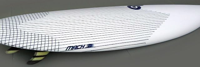 The new EPS Mach 3 is designed off the Mach 3